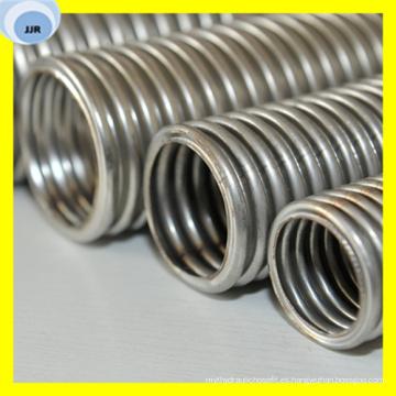Manguera corrugada trenzada flexible del acero inoxidable de alta presión para el agua