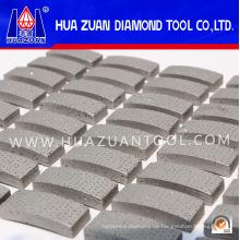 Weiß gesintertes Arix-Diamant-Segment / Diamant-Kernbohrer-Segment für Kernbohrerbohrer Bohren verstärkter Beton