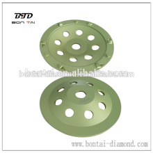 Chip segment polycrystalline diamond PCD cup wheel
