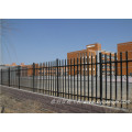 Euro Style Free Standing Iron Palisade Fencing / Wrought Iron Fence Panel Hot Sale