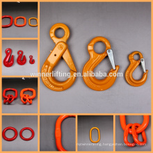 G100 G80 high load eye crane hooks