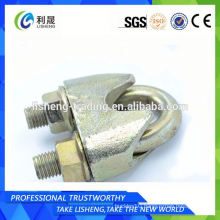 China Din1142 Malleable Iron Wire Rope Clips