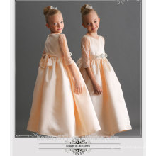 kids collection baby-girls red color party wedding princess dresses supplier ED703