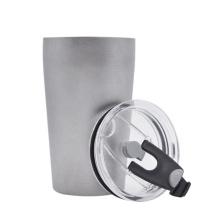 Taza de cerveza de doble capa de titanio puro Water Tea