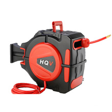 A18 high pressure auto retractable air hose reel with PU,PVC, Rubber Hose