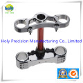 CNC Machining Aluminium Triple Clamps for Motorcycle Parts