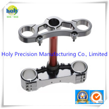CNC Machining Motorcycle Upper Triple Clamp with Anodized