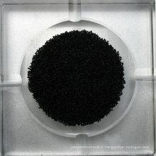 Charbon actif cylindrique à base de charbon de 0,9 mm pour la protection DX09