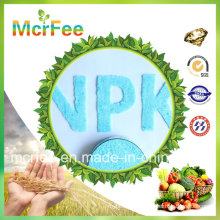 Factory 100% Water Soluble NPK Fertilizer 11-6-7+2 MGO for Agriculture