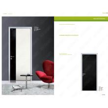 Portas de casas móveis, venda moderna porta de madeira bem composta, nova escolha para a porta dupla principal