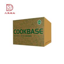 Usine direct personnalisé logo populaire ferme verre boîte d'emballage