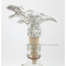 Neu Design Einzigartiger Dinosaurier Weinflasche Stopper, Massivholz Wein Stopper