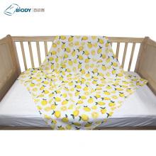 Fleece Muslin Cotton Baby Blanket With Gift Box