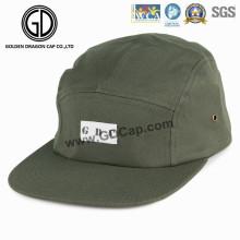 2016 Personnalisé Simple Mode Coton Vert Foncé Snapback Camper Chapeau
