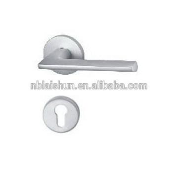 polished aluminum casting window handle