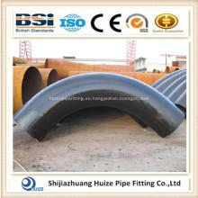 ANSI B16.9 curva de montaje de tubería de acero al carbono