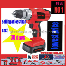 QIMO Professional Power Tools QM-1013B LI-ION 18V Two Speed Cordless Drill/Driver