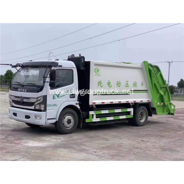 Eco-friendly 4x2 small electric garbage truck