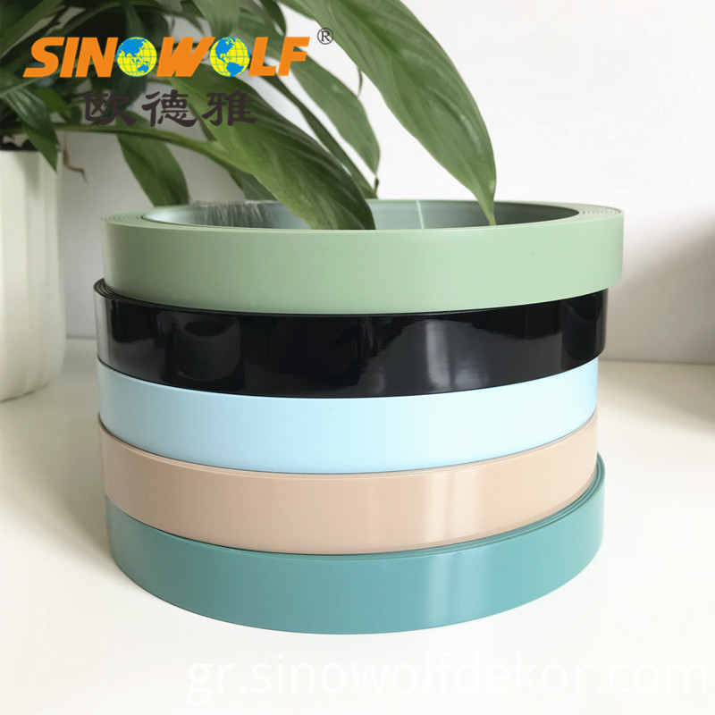 Solid Color Pvc Abs Edge Banding For Furniture