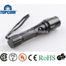 Zoom-Dimmer LED-Taschenlampe einstellbare Cree LED-Taschenlampe
