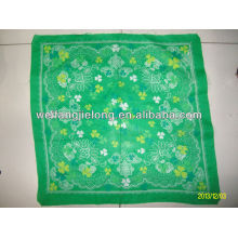 100% cotton printed table napkin