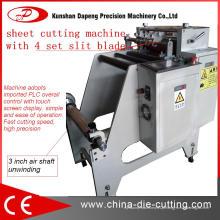Máquina de corte de folha para folha