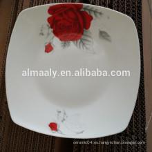Placa de cocción plana de cerámica