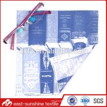 Объемная микроволоконная ткань для чистки очков, промо-чистящая ткань для экрана