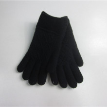 Custom Black Jacquard Magic Gloves