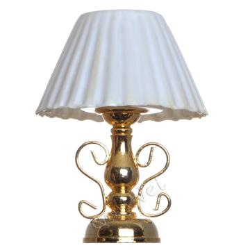 ODM for Dollhouse Lamp Tabled 1/12 scale battery operated dollhouse table lamp lights export to United States Factories