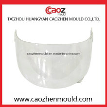 Plastic Visor Mould for Full Face Helmet Fitment