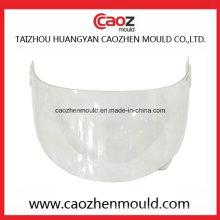 Molde de visor de plástico para o ajuste do capacete de rosto completo