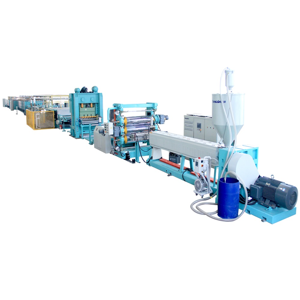 Pavement-Reinforcement-polypropylene-geogrid-extruder-machine