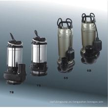 Bomba sumergible serie QJD (cuerpo Alu)