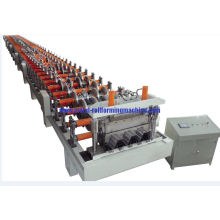 Automatic Metal Deck Roll Forming Machine , Floor Deck Roll Forming Machine H-beam Frame