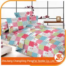 Chine fournisseur en gros large largeur impression tissu fleur pour drap