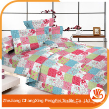 China supplier wholesale wide width print flower fabric for bed sheet