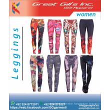 women gym leggings / sublimation fashion tights