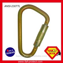 Arbeitssicherheit Schutzausrüstung Stahl Twist lock großer Haken
