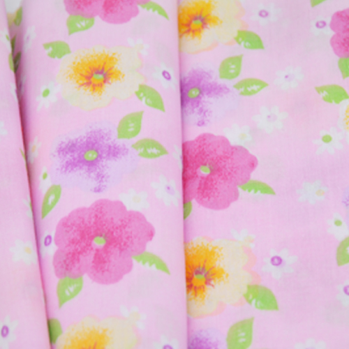 100% Printed Cotton Voile Fabric