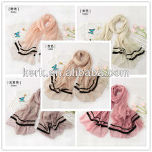 W3030, 2014 Wholesale Newest Elegant All Colors Available polyester scarf