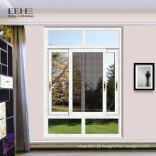 Mais recente design de alumínio janela fabricante preço