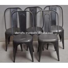 Vintage Industrial Retro Metal Chair