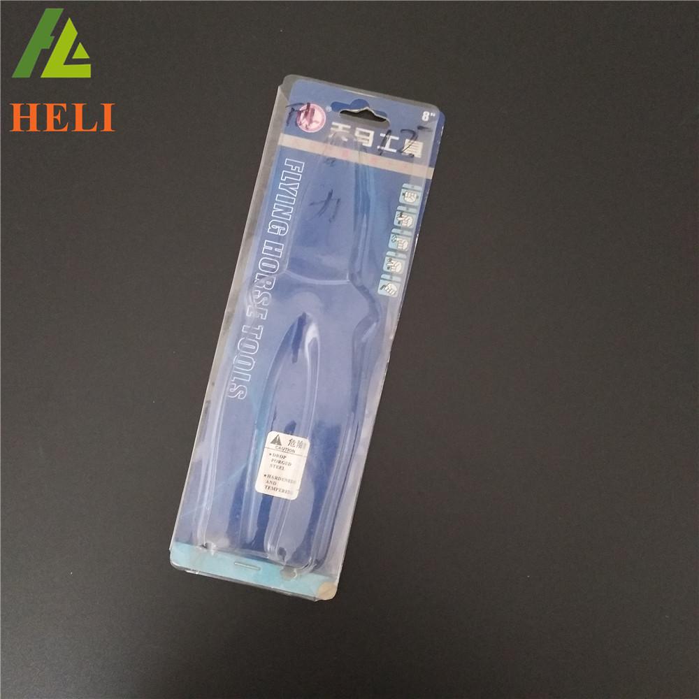 plastic blister packaging