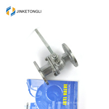 JKTLFB019 cf8m 1000wog Soupape à bille vissée en acier inoxydable à 90 degrés