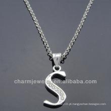 Ashion jóias encantos pendente alfabeto 2014 PCC-002