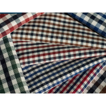 Controles de la tela cruzada camisas de tejido de poliéster de algodón 40 60