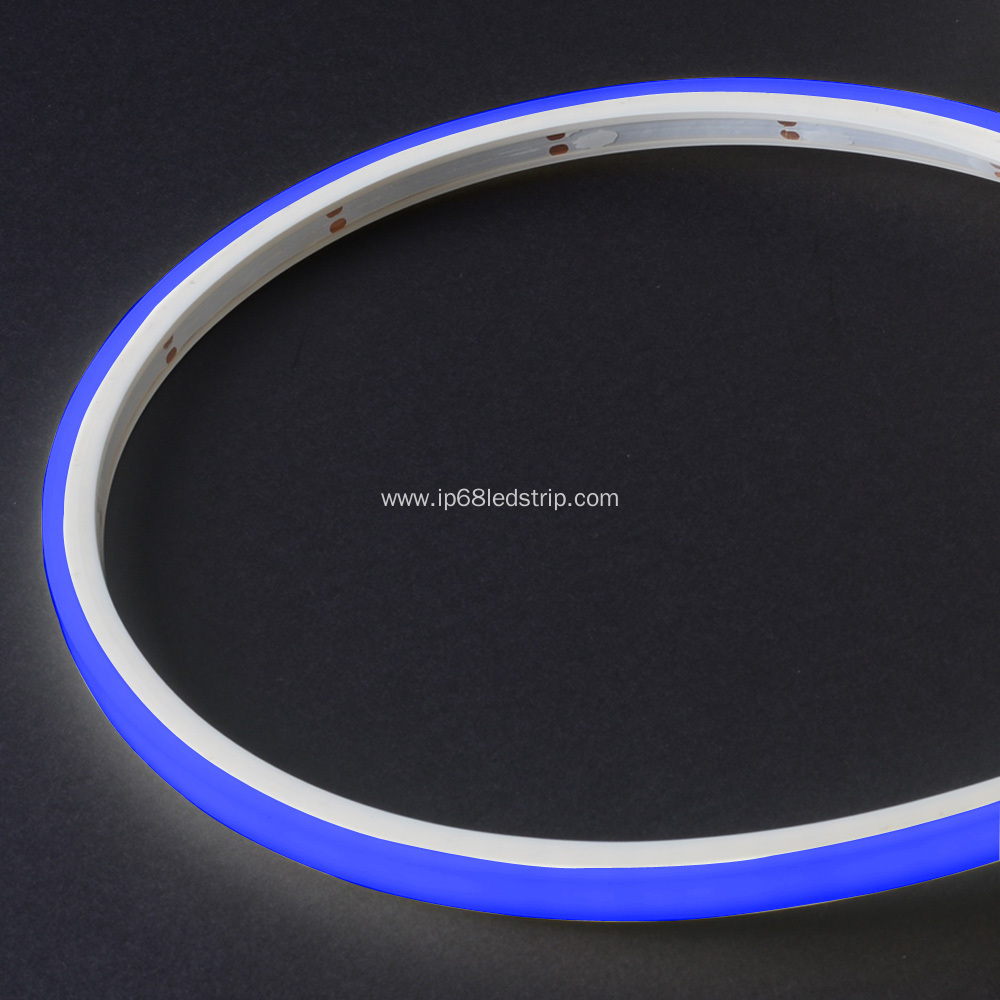 Evenstrip IP68 Dotless 1012 Blue Top Bend led strip light
