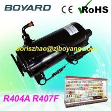 R407F R404A CE ROHS a pie en refrigerador nevera compresor precios substituye K2134GK para refrigerador comercial pequeño