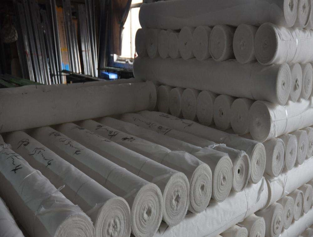 100% polyester grey fabric for bedding set